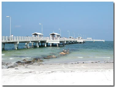 Fort desoto park for Fort desoto fishing pier