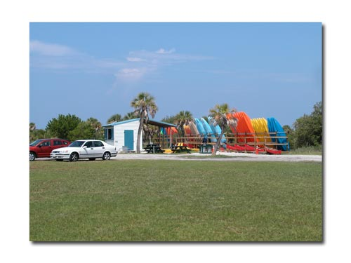 Topwater Kayak Outpost at Fort Desoto Park, Florida